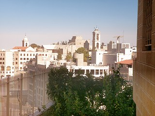 view on bethlehem