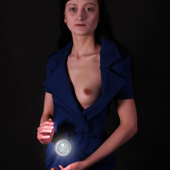 liliana piskorska selfportrait with escapelle small